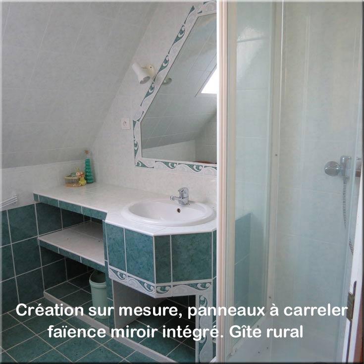 carrelage création salle d'eau sur mesure - rénovation travaux intérieur Bayonne Anglet Biarritz